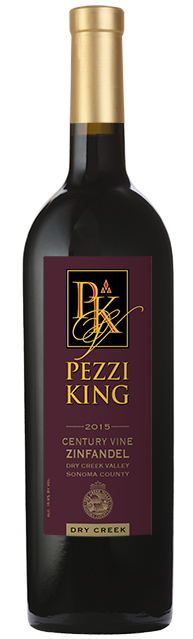 2015 Pezzi King Century Vine Zinfandel, Dry Creek Valley