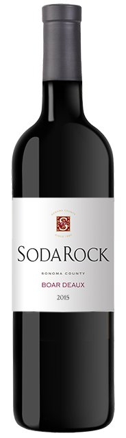 2015 Soda Rock Boar d'eaux, Sonoma County