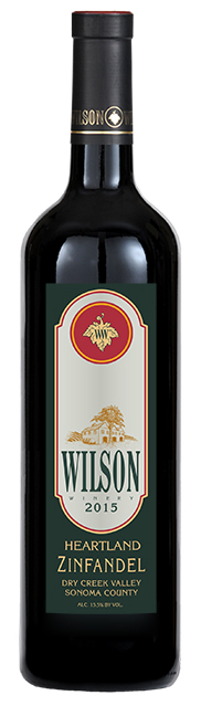 2015 Wilson Heartland Zinfandel, Dry Creek Valley