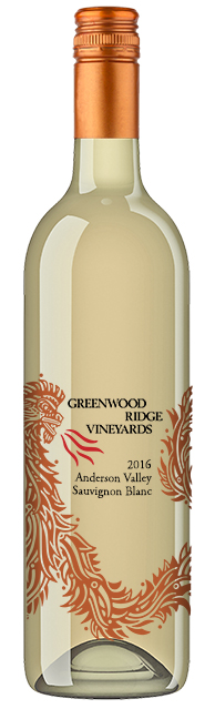 2016 Greenwood Ridge Riesling, Mendocino Ridge