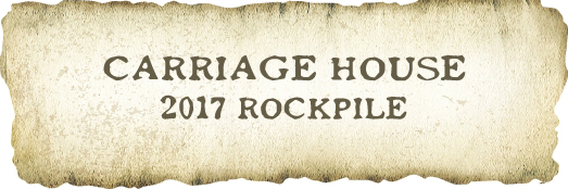 2017 Rockpile Vineyards, Carriage House Red Blend MAIN
