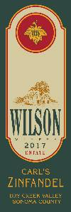 2017 Wilson Carl's Zinfandel, Dry Creek Valley THUMBNAIL