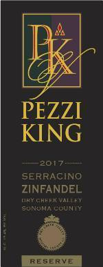 2017 Pezzi King Zinfandel Old Vine Reserve, Serracino, Dry Creek Valley THUMBNAIL
