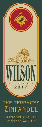 2017 Wilson Zinfandel, The Terraces THUMBNAIL