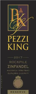 2017 Pezzi King Rockpile Vineyard THUMBNAIL