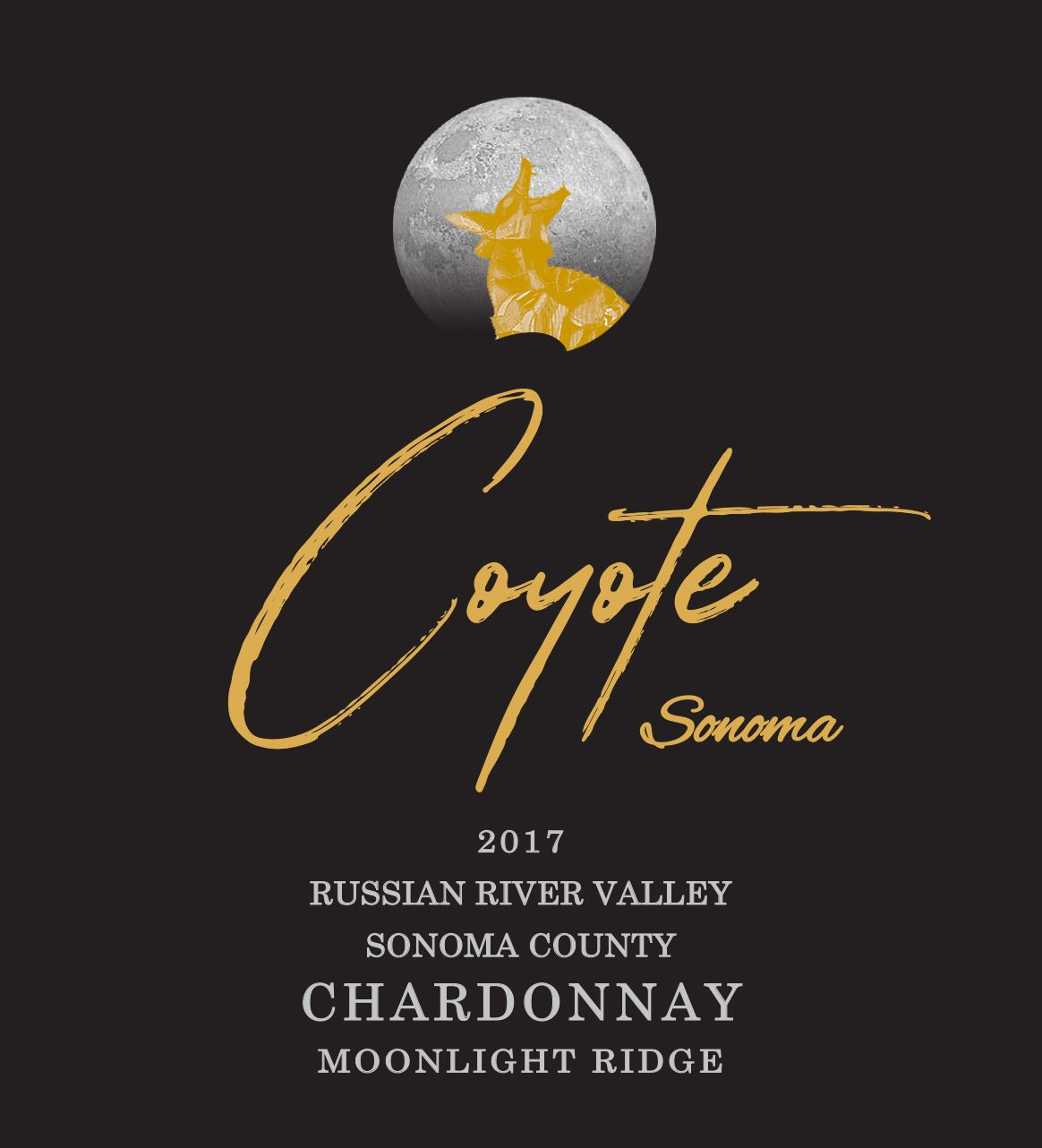 2017 Coyote Sonoma Chardonnay, Moonlight Ridge THUMBNAIL