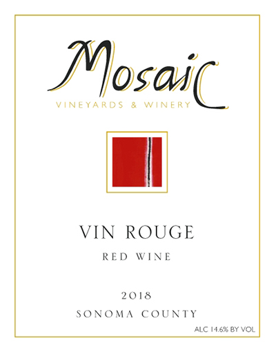 2018 Mosaic Vin Rouge, Sonoma County MAIN