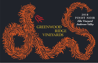 2018 Greenwood Ridge Elke Pinot Noir Anderson Valley THUMBNAIL