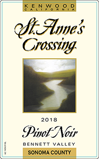 2018 St. Anne's Crossing Pinot Noir, Bennett Valley THUMBNAIL