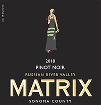 2018 Matrix Pinot Noir Russian River valley THUMBNAIL