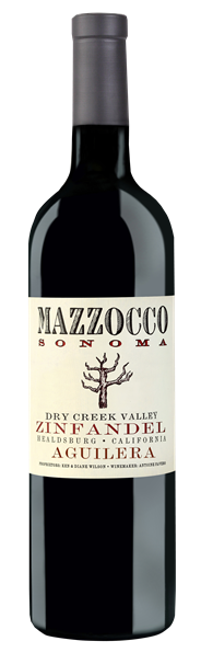 2016 Mazzocco Zinfandel, Aguilera, Dry Creek Valley