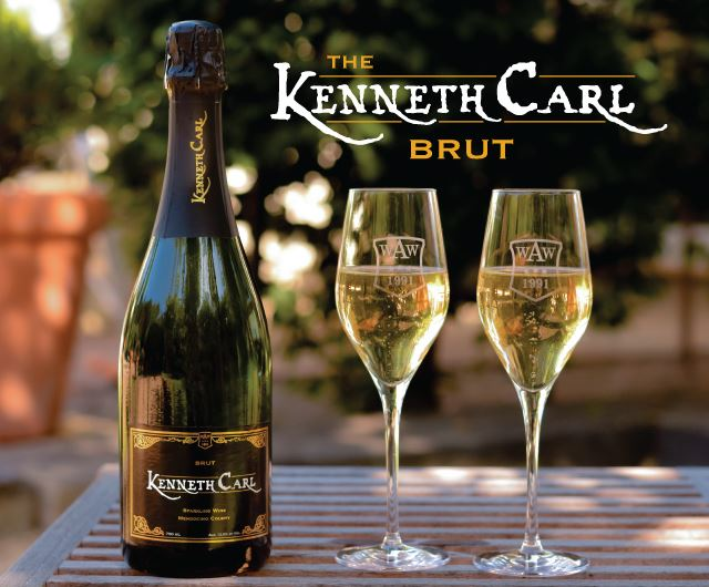 Kenneth Carl Brut Sparkling Wine MAIN