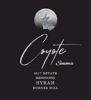 2017 Coyote Sonoma Burnee Hill Syrah MAIN
