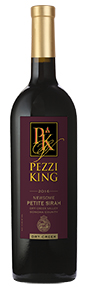 2016 Pezzi King Petite Sirah, Newsome, Dry Creek Valley