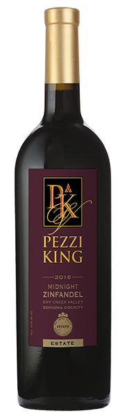 2016 Pezzi King Midnight Zinfandel, Midnight, Dry Creek Valley MAIN