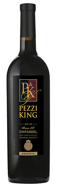 2016 Pezzi King Zinfandel Reserve, Row 26, Dry Creek Valley