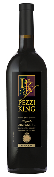 2016 Pezzi King Royals Zinfandel, Reserve, Dry Creek Valley