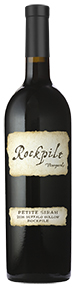 2016 Rockpile Vineyards Petite Sirah, Buffalo Hollow, Rockpile