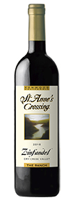 2016 St. Anne's's Crossing Zinfandel, The Ranch Vineyard, Dry Creek Valley