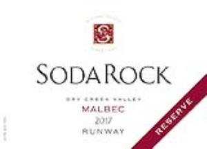2017 Soda Rock Malbec Reserve Runway, Dry Creek Valley MAIN