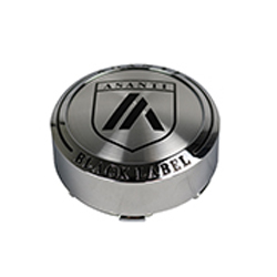 "ASANTI BLACK LABEL ABL15 ""TALL"" CENTER CAP - CHROME 128K81CH-H28 SWATCH"