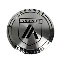 "ASANTI BLACK LABEL ABL15 ""TALL"" CENTER CAP - CHROME 128K81CH-H28 THUMBNAIL"