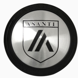 ASANTI BLACK LABEL REPLACEMENT CENTER CAP - SATIN BLACK 128K81SB-H9 MAIN