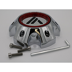 ASANTI OFFROAD AB810 REPLACEMENT CENTER CAP.  CHROME CAP.