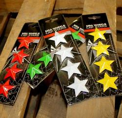MSA INTERCHANGEABLE CENTER CAP STARS (4PK)