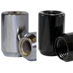 6 SIDED TUNER SOCKET LUG 14x1.5 - BLACK_THUMBNAIL