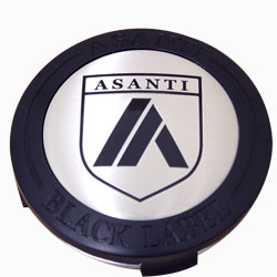 ASANTI BLACK LABEL REPLACEMENT CENTER CAP - BLACK ABLCAP-BK THUMBNAIL