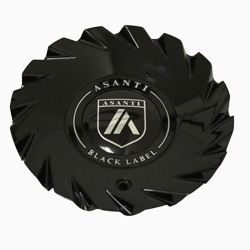 ASANTI BLACK LABEL ABL-18 ONLY REPLACEMENT CENTER CAP - GLOSS BLACK ABL18CAP-GB