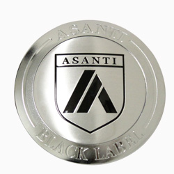 ASANTI BLACK LABEL REPLACEMENT CENTER CAP - CHROME ABLCAP-CH THUMBNAIL