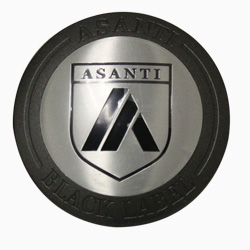 ASANTI BLACK LABEL REPLACEMENT CENTER CAP - MATTE GRAPHITE ABLCAP-MG