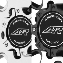 AMERICAN RACING AR708 REPLACEMENT CENTER CAP THUMBNAIL