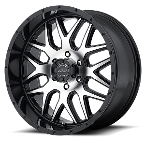 AMERICAN RACING WHEEL AR910 GLOSS BLACK MACHINE