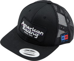 AMERICAN RACING LOGO APPAREL SNAPBACK CURVED BILL HAT THUMBNAIL
