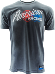 "AMERICAN RACING ""AMERICAN GRAFFITI"" TSHIRT  - LT. GREY OR CHARCOAL Mini-Thumbnail"