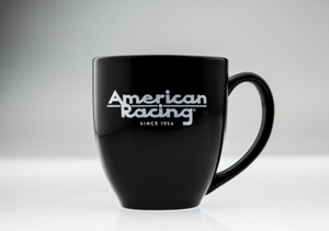 AMERICAN RACING COFFEE MUG
