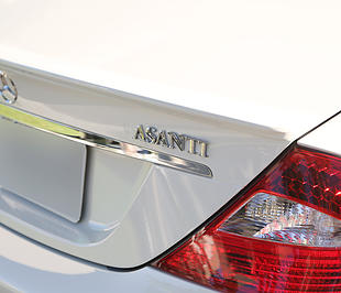 ASANTI VEHICLE EMBLEM