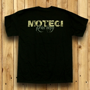 "MOTEGI RACING "" STAMPED"" TSHIRT - BLACK Mini-Thumbnail"