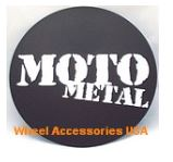 MOTO METAL MO970 CENTER CAP LOGO ONLY LARGE 60.5MM
