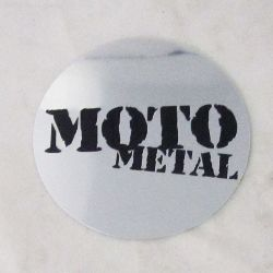 SHOP: MOTO METAL MO957 / MO958 / MO959 / MO960 / MO961 CAP CHROME LOGO STICKER