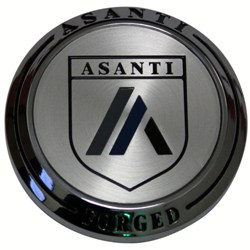 SHOP ASANTI FORGED REPLACEMENT CHROME CENTER CAP AF-CAP2CH AND ACCESSORIES - WHEELACC.COM