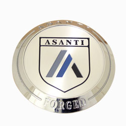 ASANTI FORGED BILLET FLOATER CENTER CAP - CHROME C-100FACN SWATCH