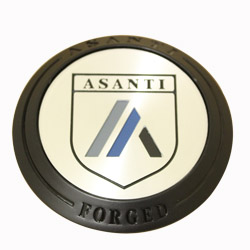 ASANTI FORGED FLOATER CENTER CAP - GLOSS BLACK C-100FFABN