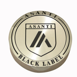 "ASANTI BLACK LABEL FLOATER CENTER CAP FOR ""SUV'S"" - CHROME C-100FSUVCN THUMBNAIL"