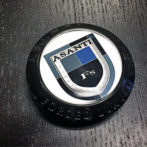 ASANTI CENTER CAP C-100B BLACK BEZEL (OLD LOGO)