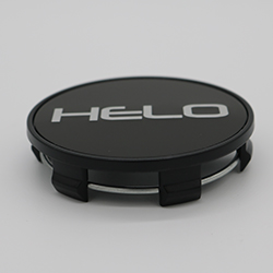 HELO HE899 REPLACEMENT CENTER CAP - SATIN BLACK SWATCH