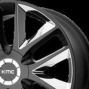 KMC WHEEL KM710 TAKEDOWN CENTER CAP THUMBNAIL